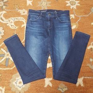 AG Farrah high rise skinny jeans 26